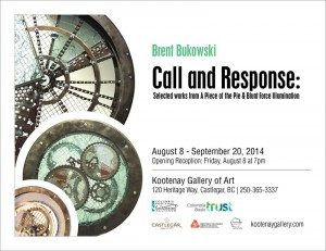 Brent Bukowski: Call and Response  @ Kootenay Gallery of Art | Castlegar | British Columbia | Canada