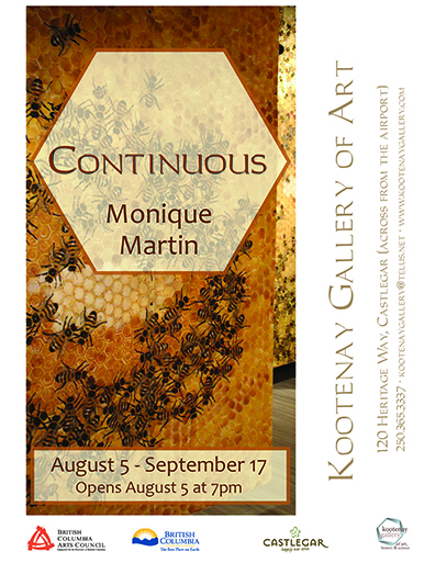 Continuous @ Kootenay Gallery of Art | Castlegar | British Columbia | Canada