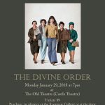 Monday at the Movies - The Divine Order @ The Old Theatre | Castlegar | British Columbia | Canada